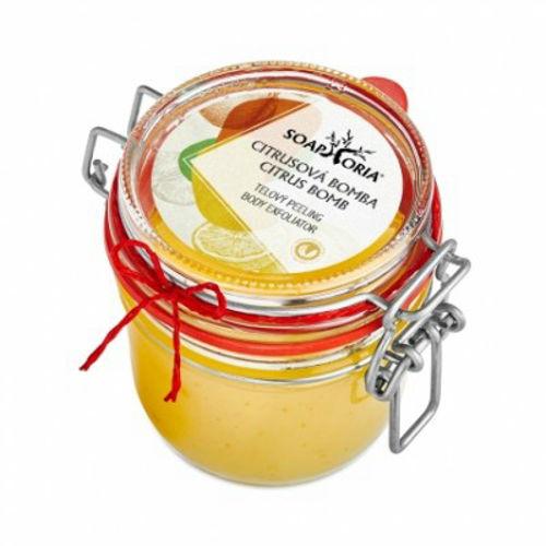 Tělový peeling Citrusová bomba Soaphoria