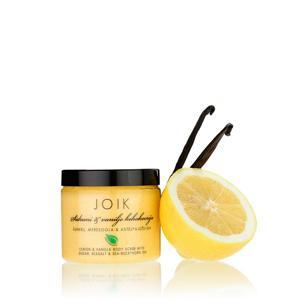 Joik Tělový peeling s citronem a vanilkou