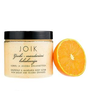 Joik Tělový peeling s grapefruitem, mandarinkou a bílým cukrem