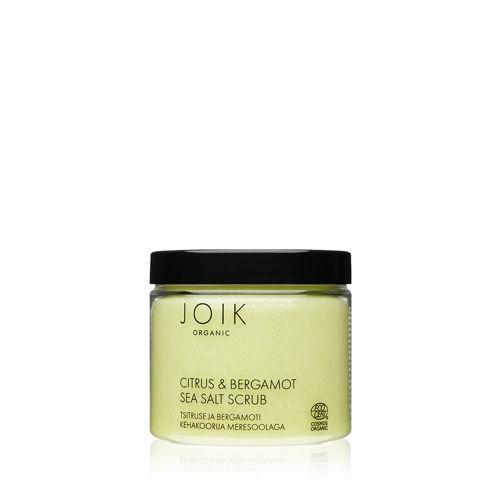 Tělový peeling s mořskou solí, citrusy & bergamotem JOIK ORGANIC