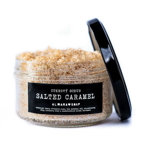 Almara Soap Tělový scrub Salted Caramel