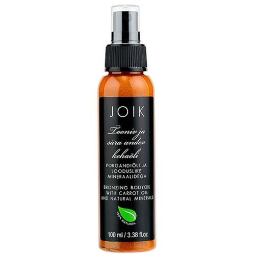 Tónovací a třpytivý tělový olej Joik