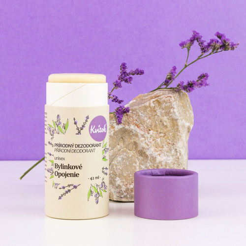 Tuhý deodorant Bylinkové opojení Kvitok