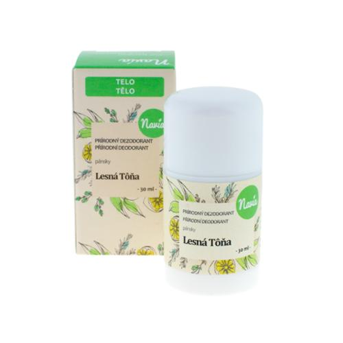 Tuhý deodorant - Lesní tůně Navia
