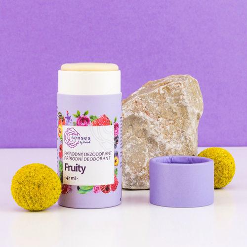 Tuhý deodorant s aktivní látkou Senses FRUITY Navia/Kvitok