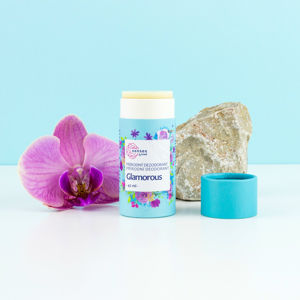Navia/Kvitok Tuhý deodorant s aktivní látkou Senses GLAMOROUS