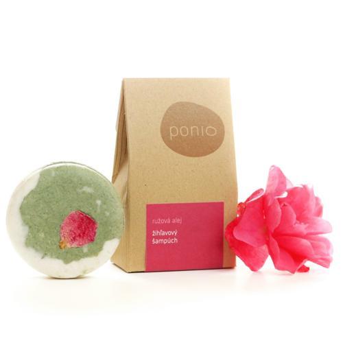 Tuhý šampon kopřivový – Růžová alej 60g Ponio