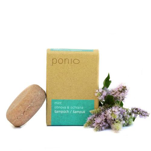 Tuhý šampon Mint obnova & ochrana 30 g Ponio