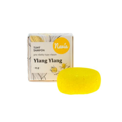 Tuhý šampón - Ylang Ylang 25 g Navia