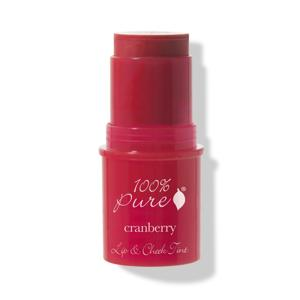 100% Pure Tyčinka na tváře a rty Cranberry Glow