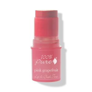 100% Pure Tyčinka na tváře a rty Pink Grapefruit Glow