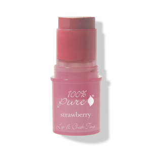 100% Pure Tyčinka na tváře a rty Shimmery Strawberry
