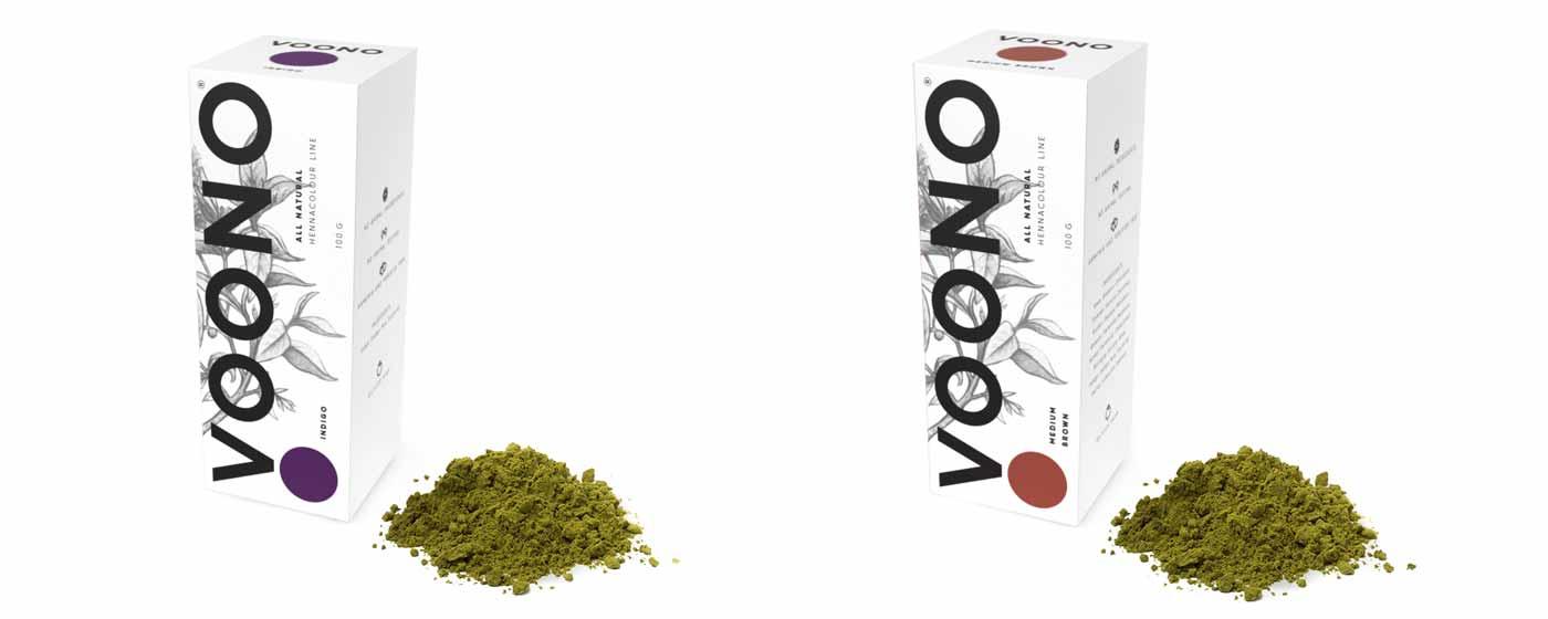 VOONO - vzorník barev