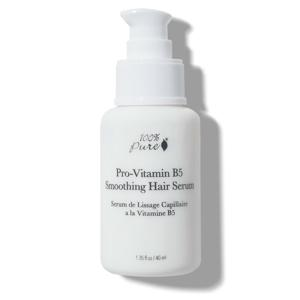100% Pure Vyhlazující sérum na vlasy Provitamín B5