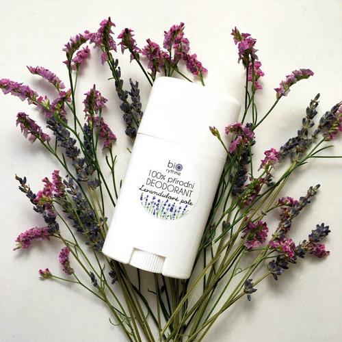 Výhodný XXL deodorant Levandulové pole Biorythme