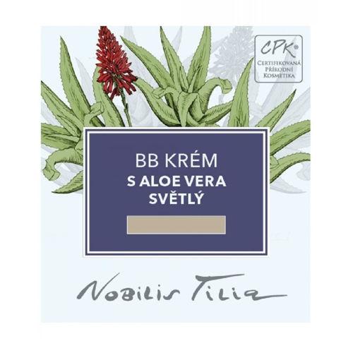 VZOREČEK BB krém s Aloe vera světlý expirace 6/2021 Nobilis Tilia
