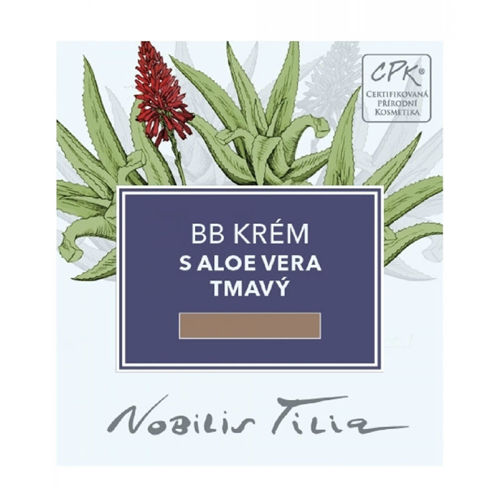 VZOREČEK BB krém s Aloe vera tmavý Nobilis Tilia