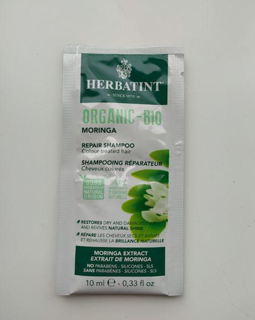 VZOREČEK Bio šampon na barvené vlasy Moringa Repair Herbatint