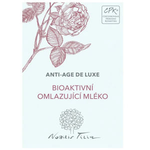 Nobilis Tilia VZOREČEK Bioaktivní omlazující mléko expirace 6/2021