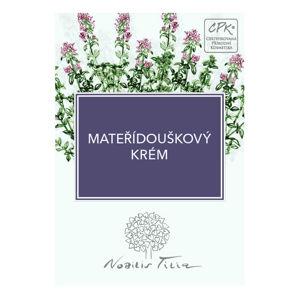 Nobilis Tilia VZOREČEK Mateřídouškový krém expirace 6/2020