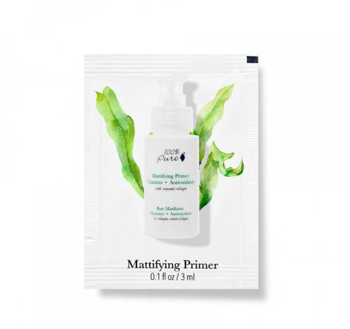 VZOREČEK Matující báze pod make-up s vitamíny, antioxidanty a kolagenem z mořských řas 100% Pure