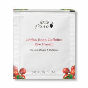 100% Pure VZOREČEK Oční krém Káva