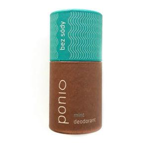 Ponio VZOREČEK Přírodní bezsodý deodorant Mint
