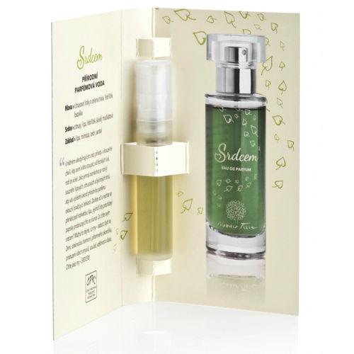 VZOREČEK Přírodní parfémová voda Srdcem  Nobilis Tilia