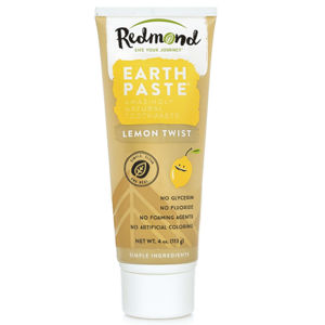 Redmond VZOREČEK Přírodní zubní pasta s bentonitovým jílem Redmond a citrusovou příchutí