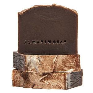 Almara Soap VZOREČEK Ručně vyráběné mýdlo Gold Chocolate