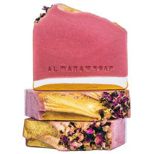 Almara Soap VZOREČEK Ručně vyráběné mýdlo Růžový grep