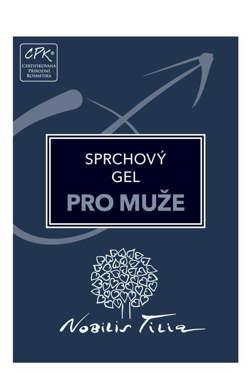 VZOREČEK Sprchový gel pro muže Nobilis Tilia