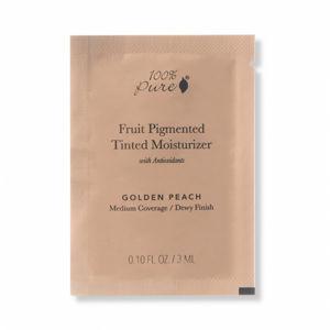 100% Pure VZOREČEK Tónovací hydratační krém Bamboo blur Golden Peach