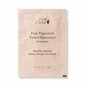 100% Pure VZOREČEK Tónovací hydratační krém Bamboo Blur White Peach