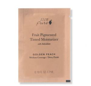 100% Pure VZOREČEK Tónovací hydratační krém Golden Peach