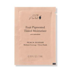 100% Pure VZOREČEK Tónovací hydratační krém Peach Bisque
