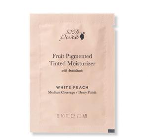 100% Pure VZOREČEK Tónovací hydratační krém White Peach