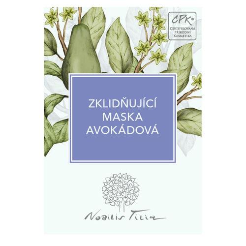 VZOREČEK Zklidňující maska avokádová Nobilis Tilia