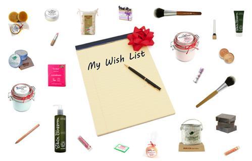 WISH LIST neboli SEZNAM PŘÁNÍ - napište mi, co si přejete a třeba to dostanete pod stromeček :-)
