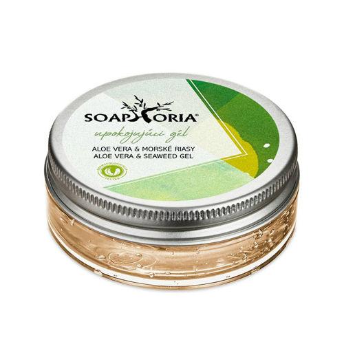 Zklidňující gel aloe vera & mořské řasy Soaphoria