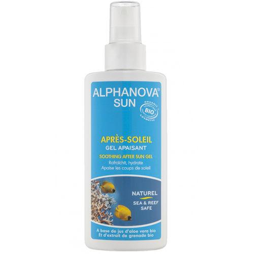 Zklidňující gel po opalování Alphanova
