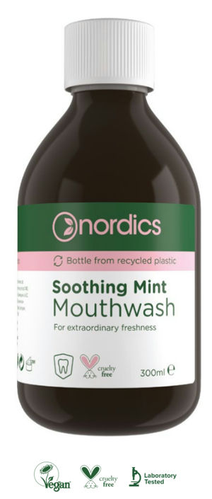 Nordics Zklidňující mátová ústní voda