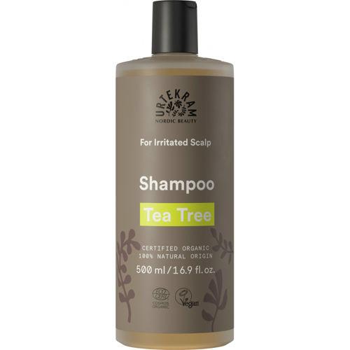 Zklidňující šampon Tea tree 500 ml Urtekram