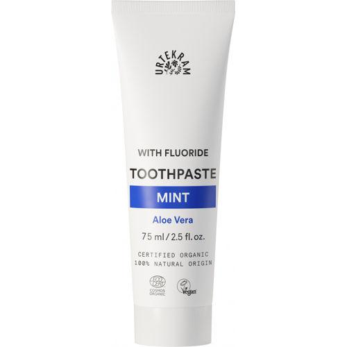 Zubní pasta s fluorem Máta Urtekram