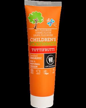 Urtekram Dětská zubní pasta Tutti frutti